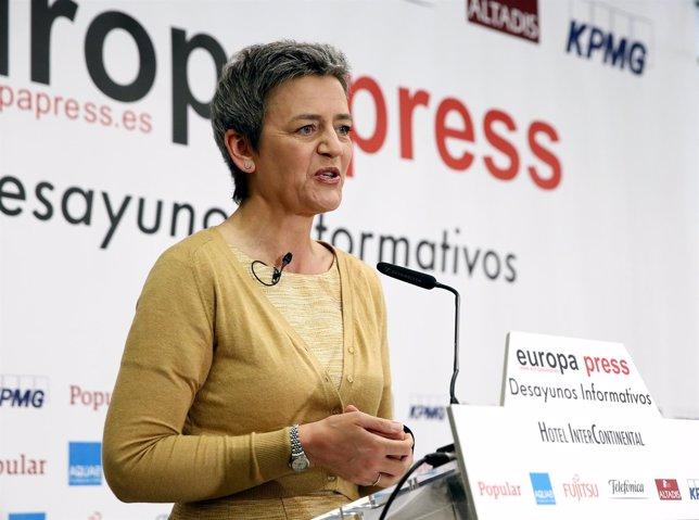 La Comisaria De Competencia, Margrethe Ventager
