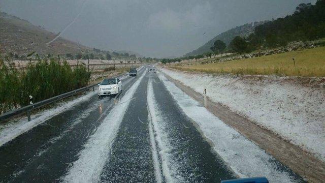 Pedrisco, granizo, tormenta, cultivos dañados