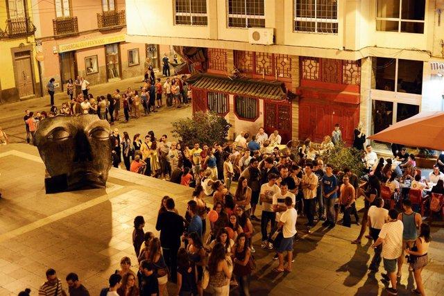 Colas para asistir a Tenerife Shorts