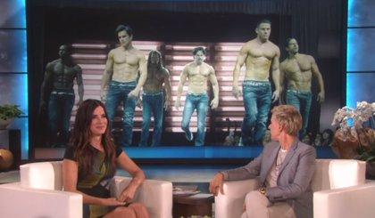 Sandra Bullock: El tráiler de Magic Mike XXL me hace ovular