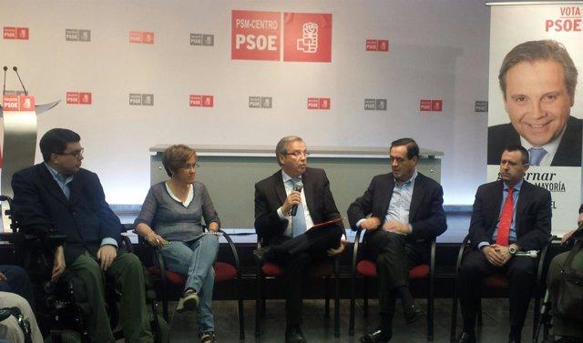 Carmona con Bono en un acto en Madrid