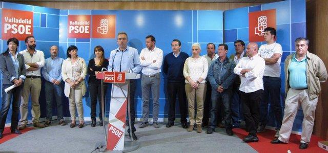 Candidatos socialistas de municipios del alfoz de Valladolid
