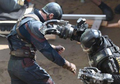 Civil War: Capitán América  se enfreta a Crossbones en las nuevas imágenes