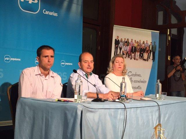 Presentación del Plan de Movilidad del PP de Las Palmas de Gran Canaria
