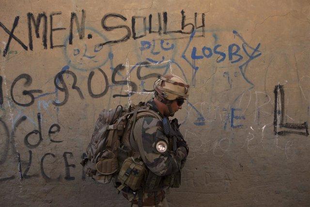 Soldado francés en Tombuctú