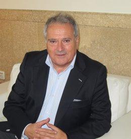 Alfonso Rus en un momento de la entrevista con Europa Press