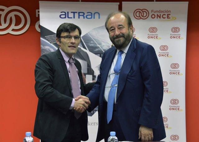 Acuerdo Fundación ONCE y Altran