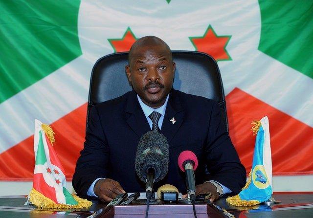 El presidente de Burundi, Pierre Nkurunziza.