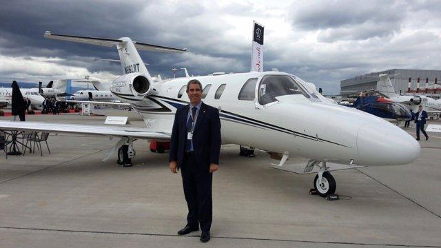 El aeropuerto de Teruel se promociona en Ginebra