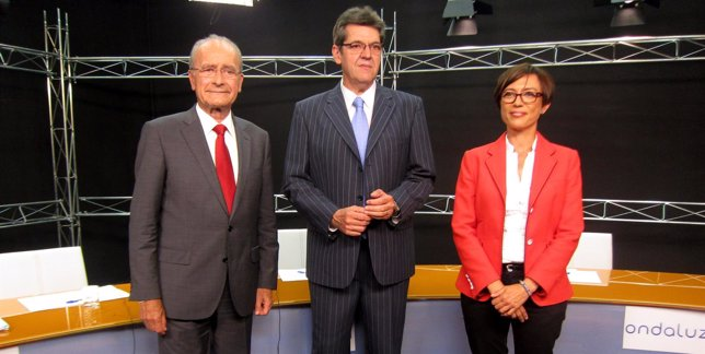 Francisco de la Torre y María Gámez en debate en Ondaluz 24 mayo 2015