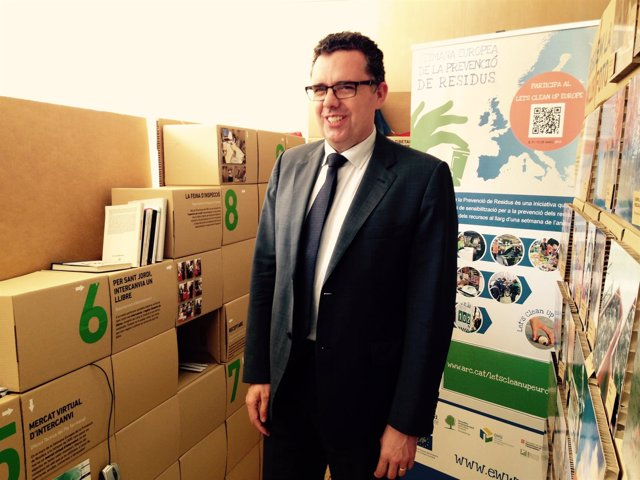 El director de la Agencia de Residuos de Catalunya (ARC), Josep Maria Tost