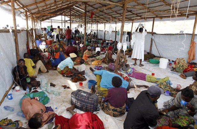 Refugiados burndeses en Kigoma, Tanzania