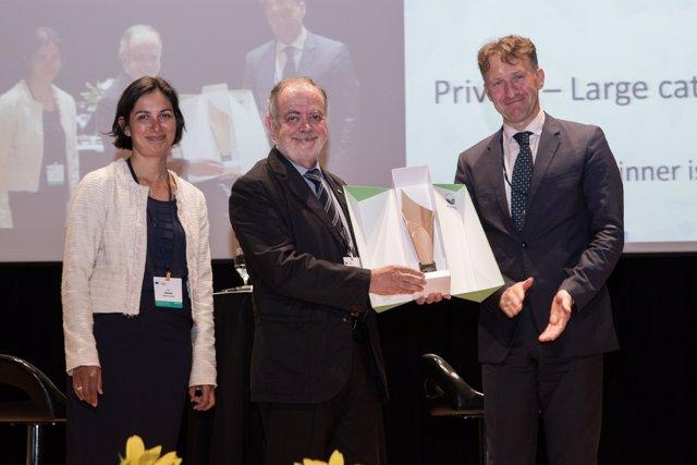 Manel Xifra, presidente de Comexi Group recibe el premio Emas