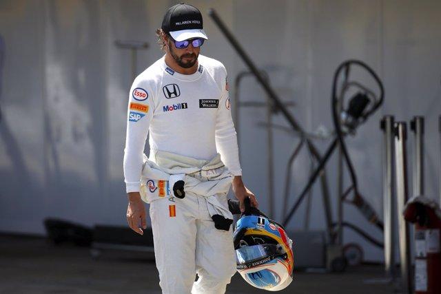 McLaren Fernando Alonso Gran Premio España