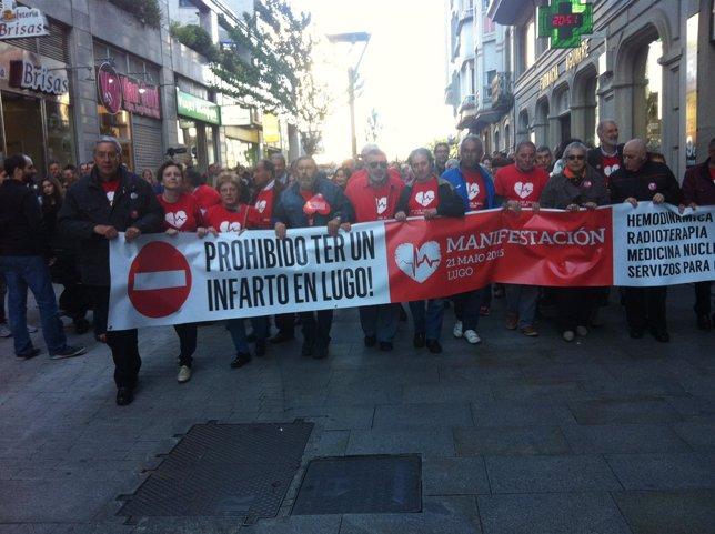 Manifestación por el Hula en Lugo