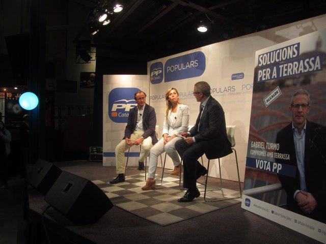 Alfonso Alonso, Alícia Sánchez-Camacho, Gabriel Turmo (PP)