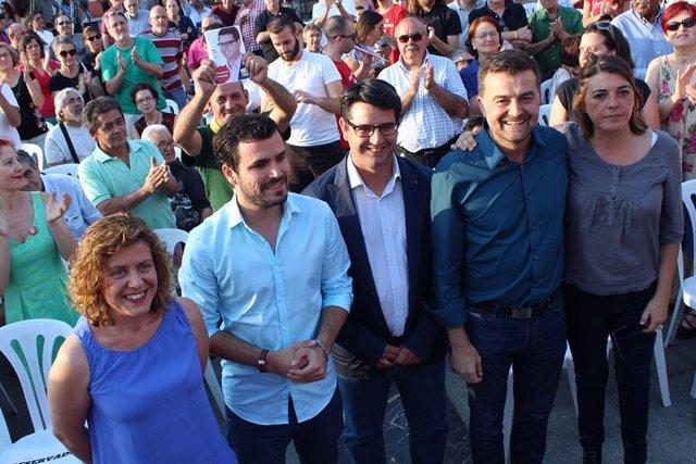 Doblas, Garzón, García, Maíllo y Cortés, en Córdoba