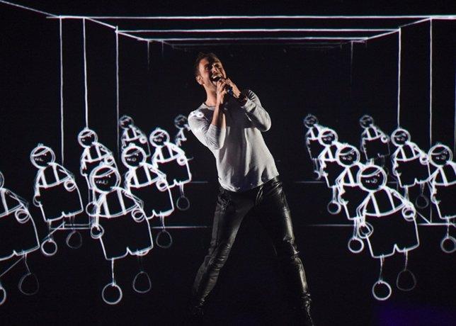 Suecia Mans Zelmerlow  pasa a final eurovision 2015