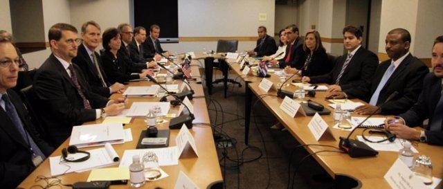 Tercera reunión entre Cuba y Estados Unidos