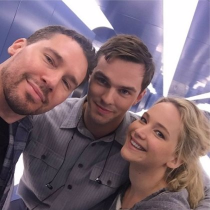 X-Men Apocalypse: Jennifer Lawrence y Nicholas Hoult llegan al set