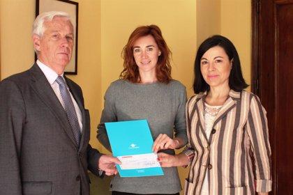 La Fundación Cofares entrega una dotación económica a la Fundación Aladina para financiar sus actividades solidarias