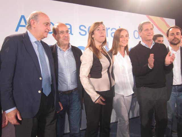 Alícia Sánchez Camacho, Jorge Fernández y Alberto Fernández, PP