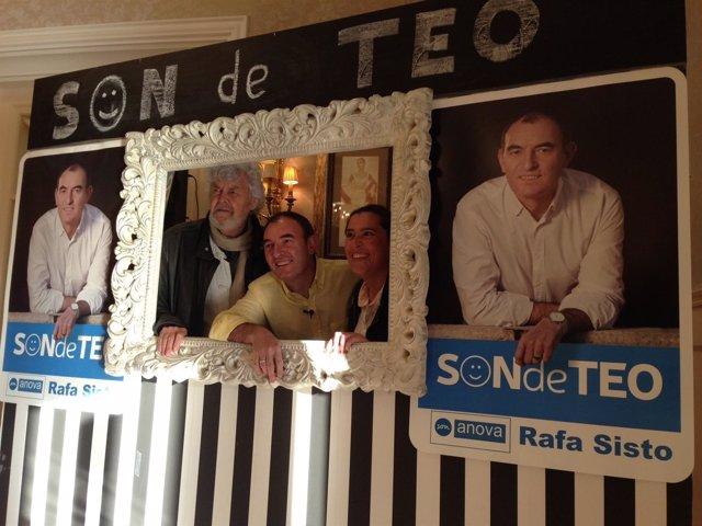 Xosé Manuel Beiras en Teo.
