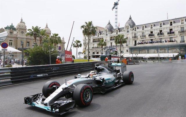 Lewis Hamilton Gran Premio Mónaco