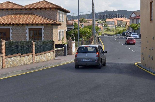 Fin asfaltado en San Román