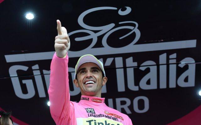 Alberto Contador Giro Italia