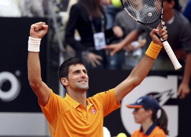 Novak Djokovic Roma Ferrer