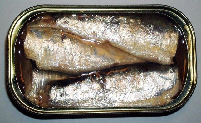 Sardinas, fuente de Omega 3, lata