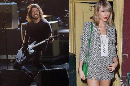"""Dave Grohl: """"Estoy oficialmente obsesionado con Taylor Swift"""""""
