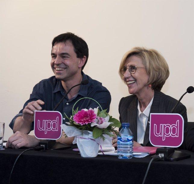Andrés Herzog y Rosa Díez