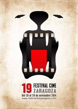 Cartel del Festival de Cine de Zaragoza (FCZ) 2014