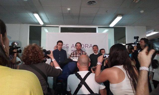 Pablo Iglesias valora los resultados de las autonómicas y municipales