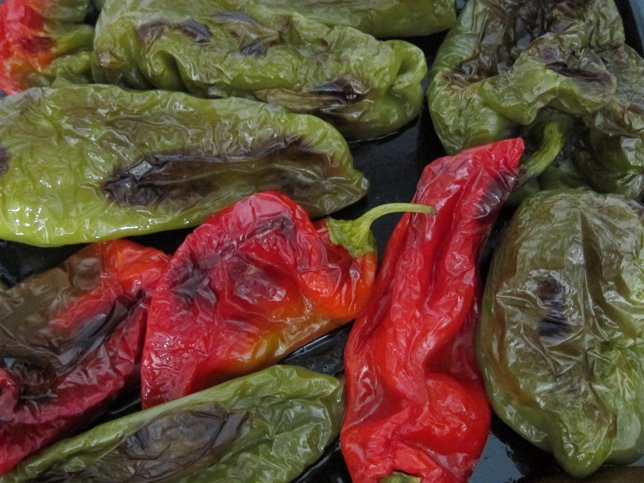 Pimientos Asados, Dieta Mediterránea, Verdura
