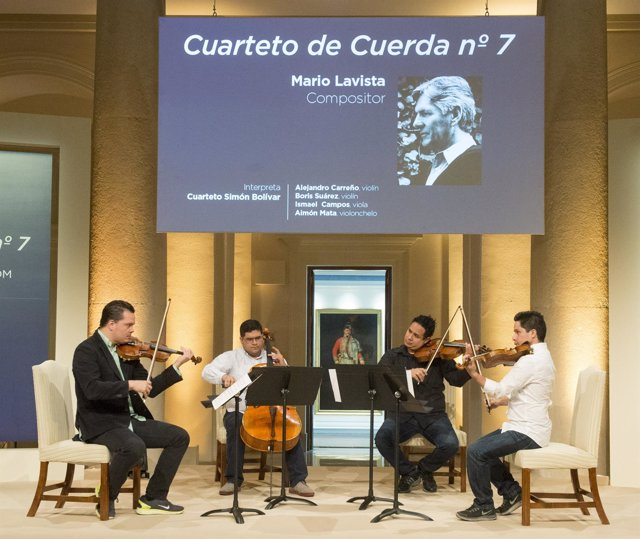 Mario Lavista Cuarteto de cuerda 7