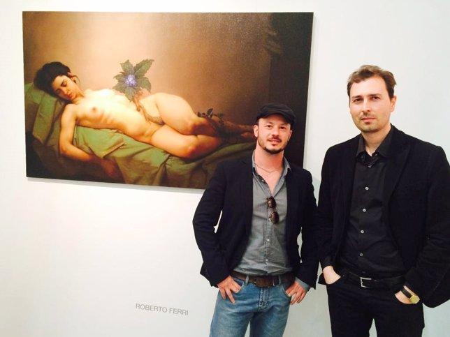 Retratista del Papa, Roberto Ferri, expone en la feria Art Miami de Nueva York