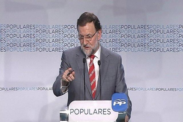 Rajoy no hará cambios en el PP tras las elecciones
