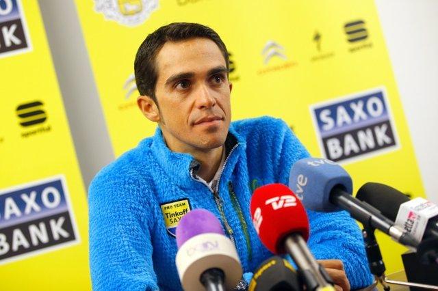 Alberto Contador Giro Tinkoff-Saxo