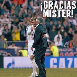 Carlo Ancelotti Toni Kroos despedida Real Madrid