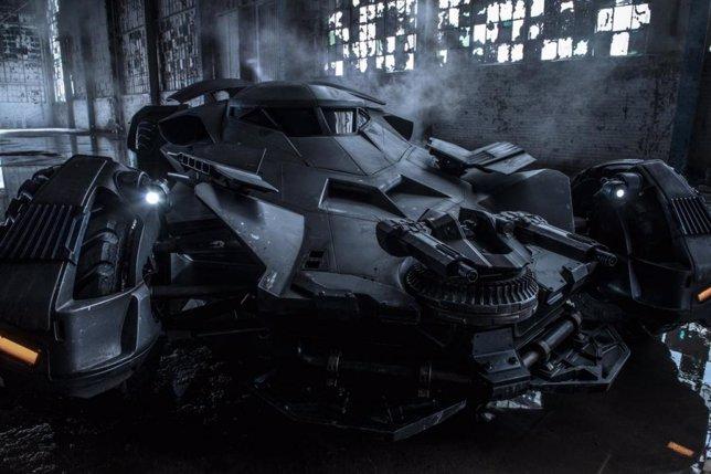El Batmóvil de Batman v Superman
