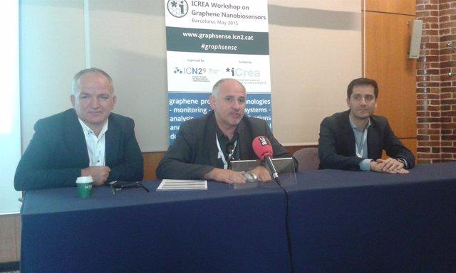 A.Merkoçi, S.Roche (ICN2) y J.A.Garrido