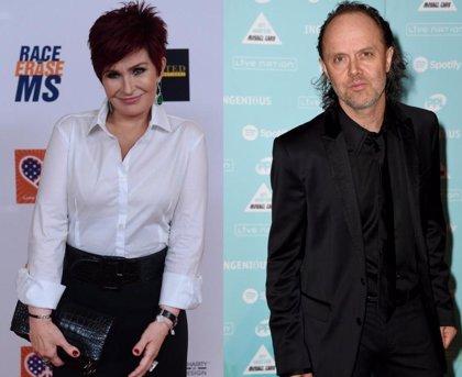 """Sharon Osbourne: """"Lars Ulrich es un poco bocazas, a veces necesita un buen bofetón"""""""