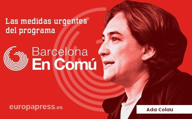 Programa Ada Colau Barcelona En Comú