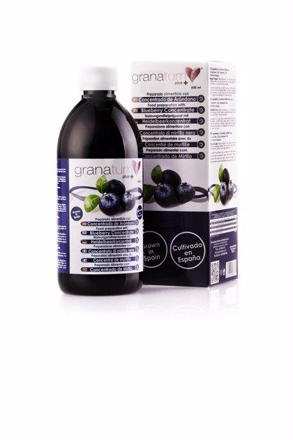Granatum Plus lanza el primer concentrado de arándano 100% de cultivo español