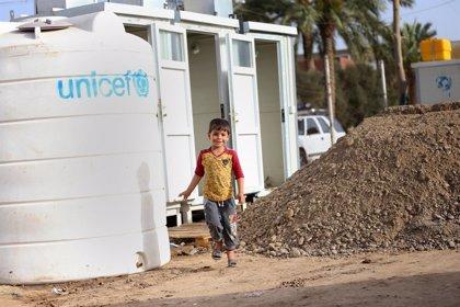 Campaña de la ONU para vacunar de la polio a 5,7 millones de niños en Irak