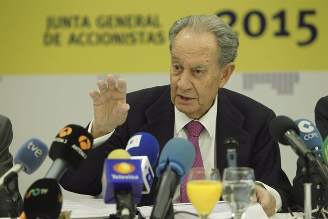 Villar Mir en la junta general de accionistas 2015