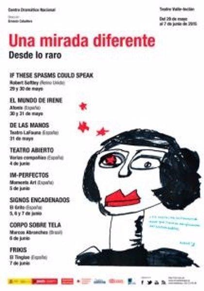 El Teatro Valle-Inclán de Madrid estrena el Festival Una mirada diferente